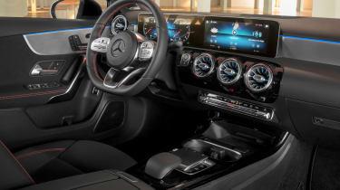 Mercedes A-Class Saloon - cabin