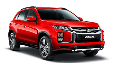 Mitsubishi ASX - front