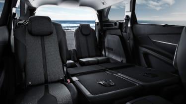New Peugeot 5008 2016 - rear seats