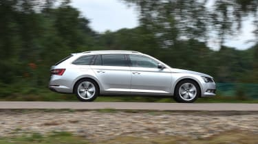 Skoda Superb Estate - side