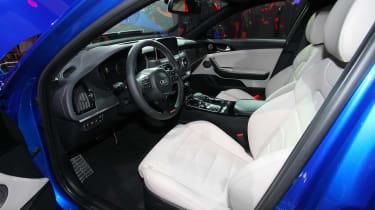 Kia Stinger GT - show front seats