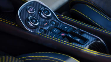 New McLaren 570S Spider - centre console
