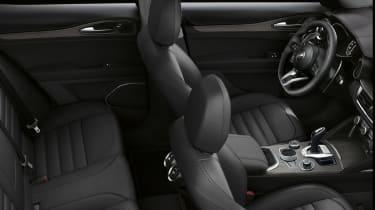 Alfa Romeo Stelvio - interior