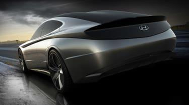 Hyundai Le Fil Rouge concept - rear action