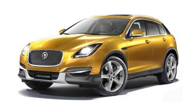 Jaguar SUV front