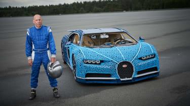 Lego Bugatti Chiron - test driver