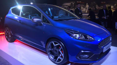 Ford Fiesta ST show - front