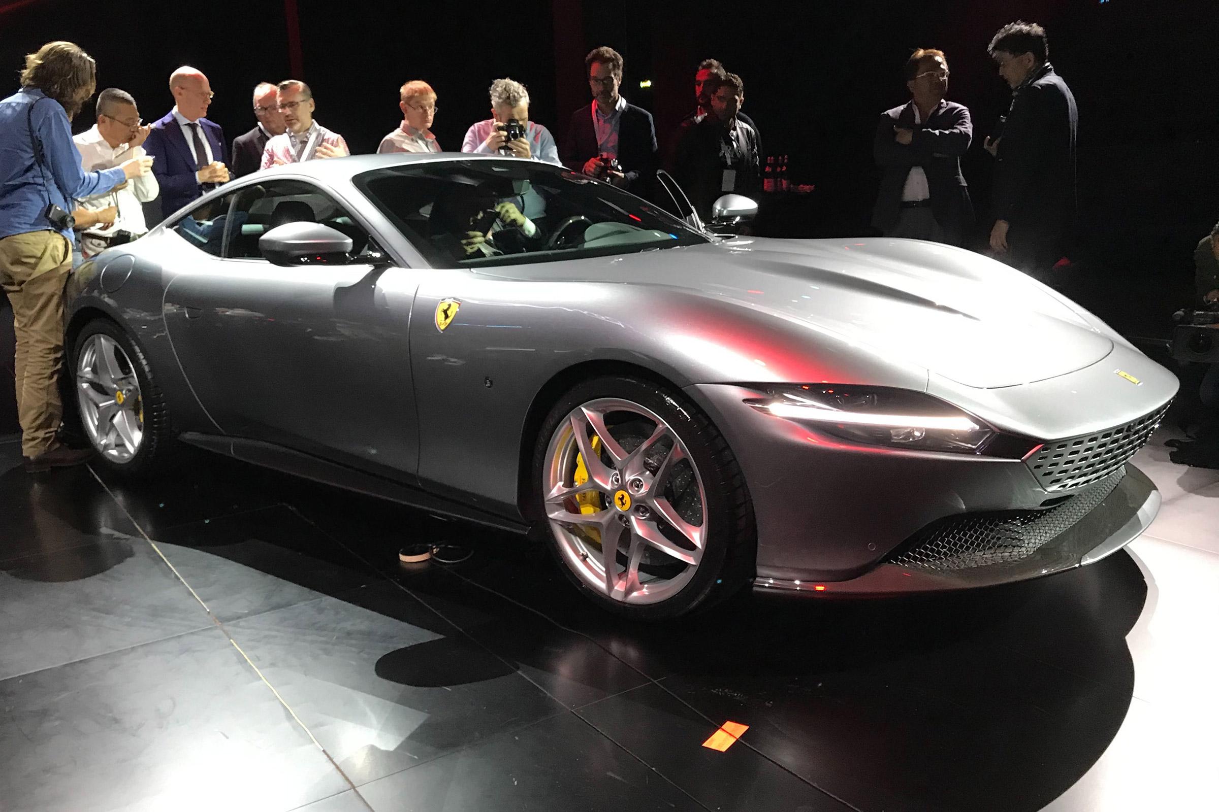 New 2020 Ferrari Roma Blasts In As New 612bhp Gt Auto Express