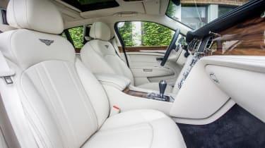 Bentley Mulsanne 2016 - front seats