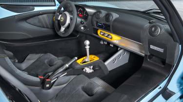 Lotus Exige Sport 410 - interior
