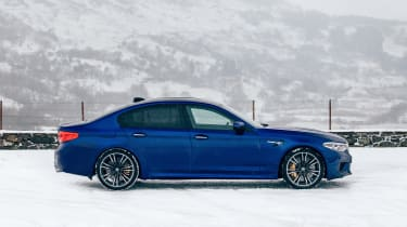 New BMW M5 - side
