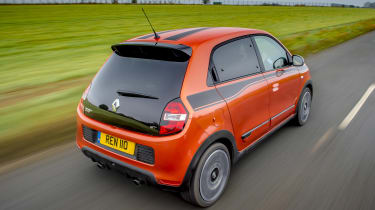 Renault Twingo GT - rear action