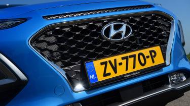 Hyundai Kona Hybrid - grille