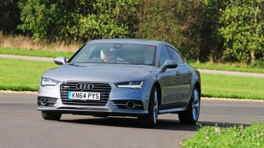 Used Audi A7 Sportback - front action