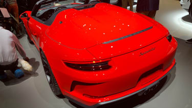 Porsche 911 Speedster - New York - rear 3/4