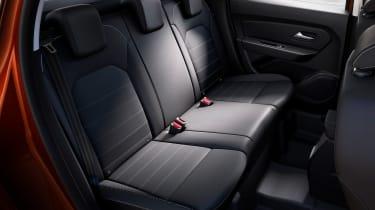 Dacia Duster facelift - rear seats