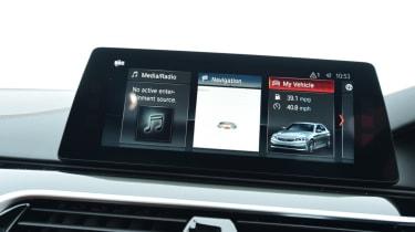 Alpina D5 S infotainment options