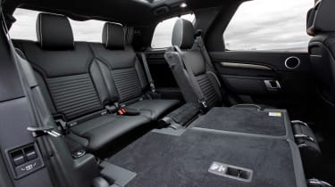Used Land Rover Discovery 5 - rear seats