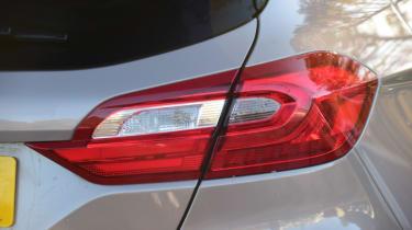 Ford Fiesta Vignale tail-light