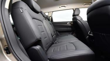 SsangYong Rexton long term - first report rear seats