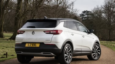 Vauxhall Grandland X Ultimate - rear