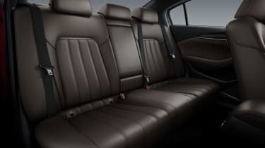 Mazda 6 - back seats