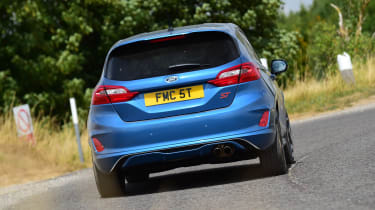 Ford Fiesta ST - rear cornering