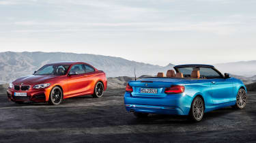 BMW 2 Series 2017 facelift