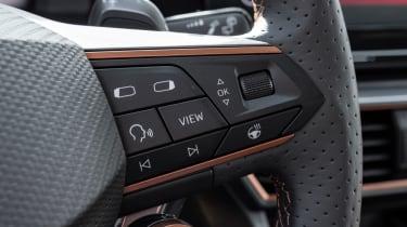 Cupra Formentor e-Hybrid - steering wheel controls