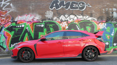 Honda Civic Type R GT - profile