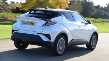 Used Toyota C-HR - rear action