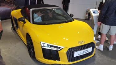 Audi R8 V10 Spyder - Goodwood front three quarter
