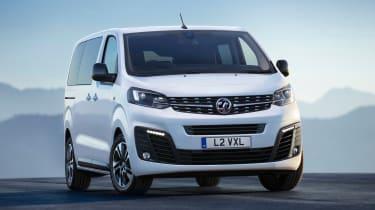 Vauxhall Vivaro Life - full front