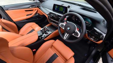BMW M5 - cabin