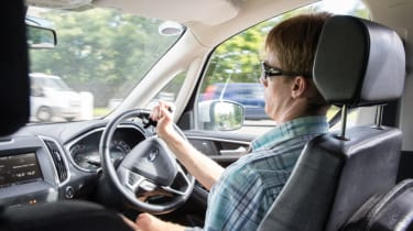 Disability driving feature - driving