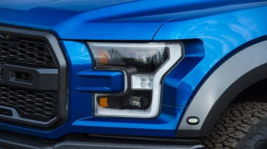 Ford F-150 Raptor pick-up truck - headlight