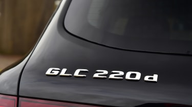 Mercedes GLC 220 d  - badge