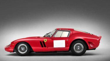 Ferrari 250 GTO outdoors