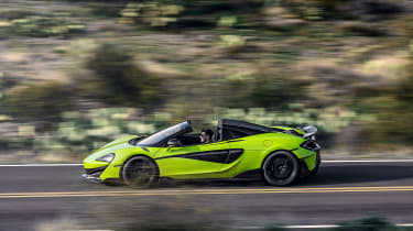 McLaren 600LT Spider - side