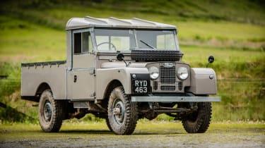 A Land Rover Series I.
