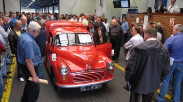 70 Years of British Car Auctions - Royal Mail Van