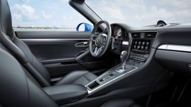 Porsche 911 Targa 4S 2016 - interior