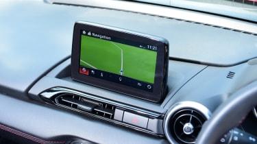 Mazda MX-5 long termer - first report sat-nav