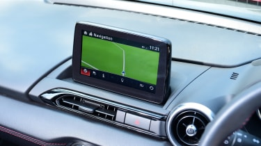 Mazda MX-5 long termer - first report sat-nav
