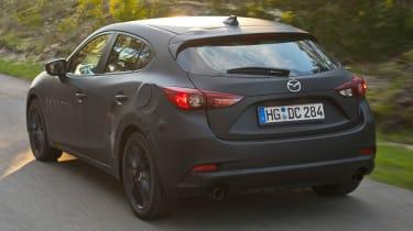 Mazda 3 Skyactiv-X prototype - rear