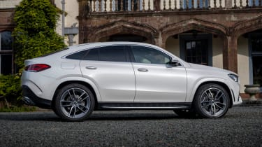 Mercedes GLE Coupe twin test - side