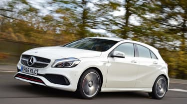 Mercedes A 250 AMG - front