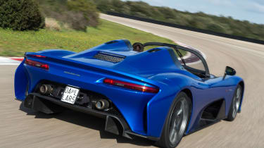 Dallara Stradale - rear action