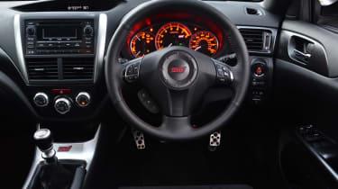 Subaru WRX STi 320R interior