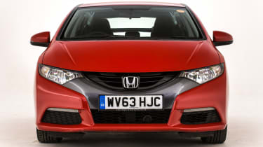Honda Civic Mk9 - full front